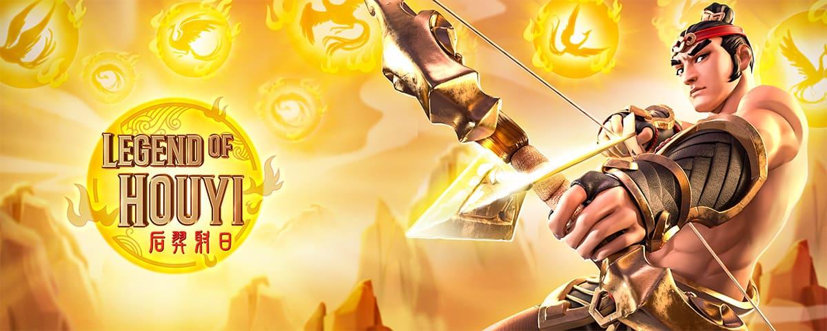 Legend Of Houyi สล็อตนักธนูเฮายี่ ล่ารางวัลไปกับชายผู้ยิงธนูในตำนาน